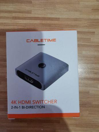 Przełącznik switch HDMI 4K