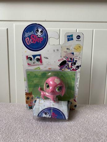 Littlest Pet Shop LPS pies piesek jamnik nowy różowy