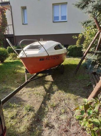 Łódka, żaglówka STAN IDEALNY cena z przyczepką