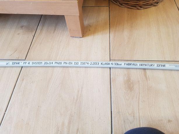 rura polipropylenowa PP-R 20×3.4MM