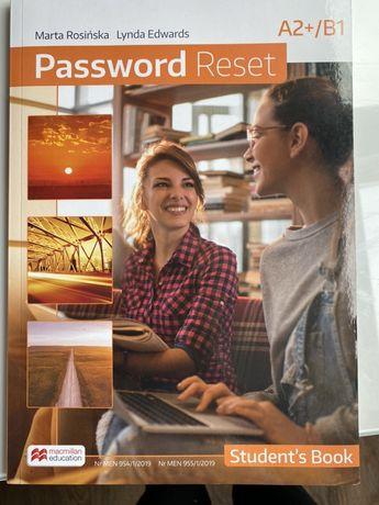 """Podręcznik i ćwiczenia """"Password Reset"""""""