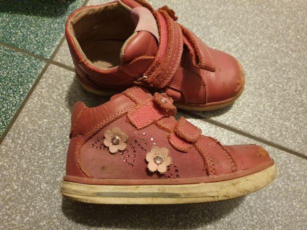 Buty trzewiki dziecięce dla dziewczynki