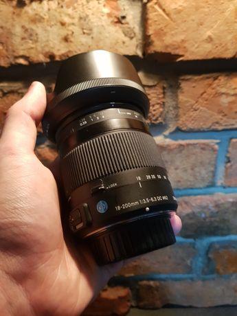 Sigma 18-200mm f:3.5-6.3   Nikon F   Optyczna Stabilizacja