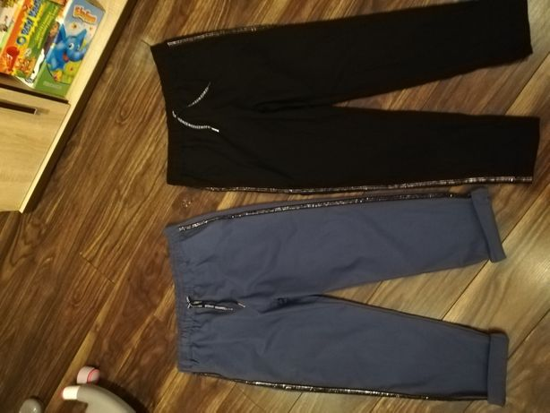 Spodnie lampas 4xl, 5xl kolor czarny, jeansowy NOWE