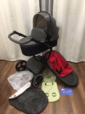 Детская коляска Ninos GREY A88 2 в 1