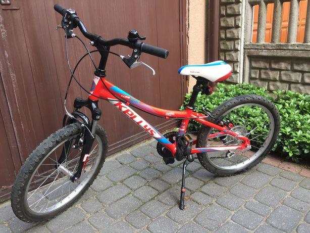 Rower dziecięcy Kellys Lumi 50 czerwony. Koła 20 cali.