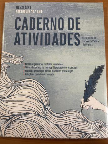 Caderno de atividades 10 ano, português