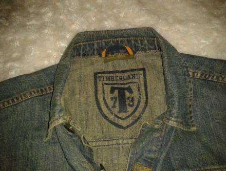 Blusão Ganga Timberland - 12 anos