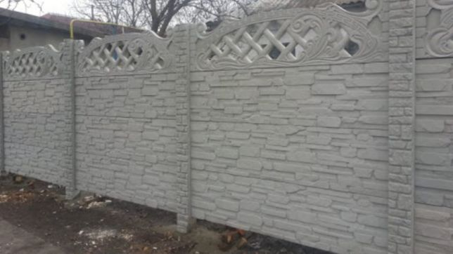 Забор, бетонный забор, еврозабор.
