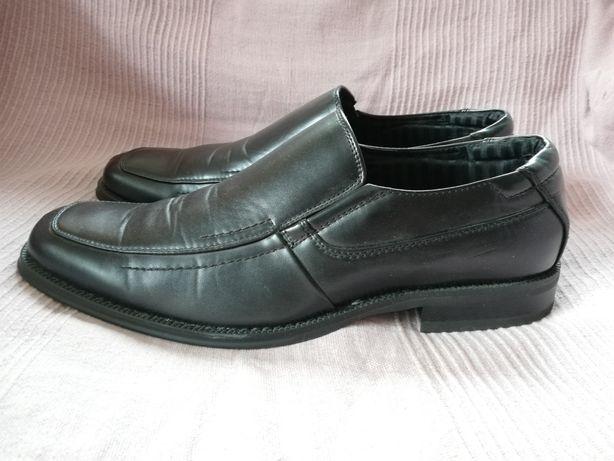 Buty galowe DINSKO roz. 46, półbuty eleganckie, mokasyny, wizytowe