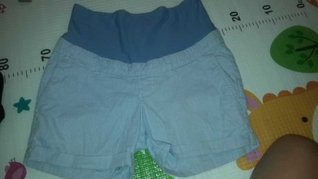 Ciążowe krótkie spodenki MAMA H&M 38