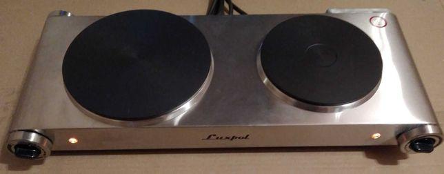 Kuchenka elektryczna dwupłytowa wolnostojąca 2500W