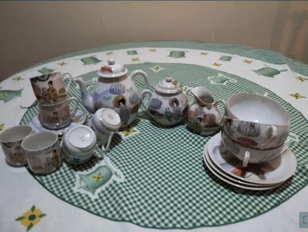 Serviço de chá e de café oriental
