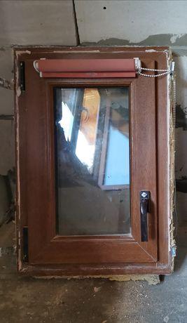 Okno złoty dąb 72x49