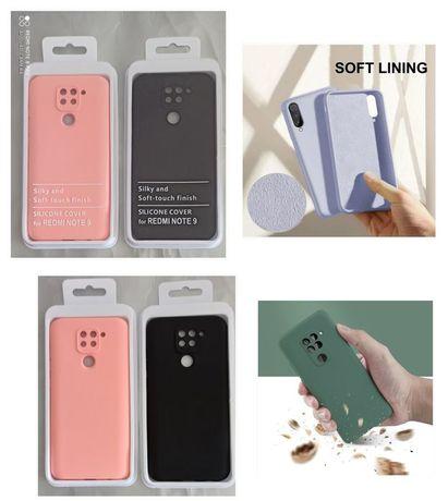 Capa Silky Soft Touch Xiaomi Redmi Note 9 /Redmi 9/ Mi 10 / Mi 10 Pró