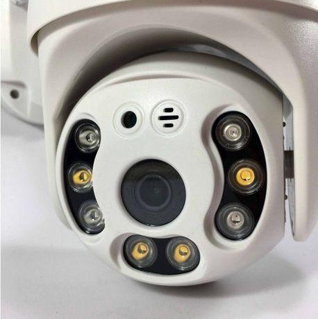 Уличная IP камера Wi-Fi FULL HD 2Mpx 1080p PTZ Yoosee UKC Гарантия Год