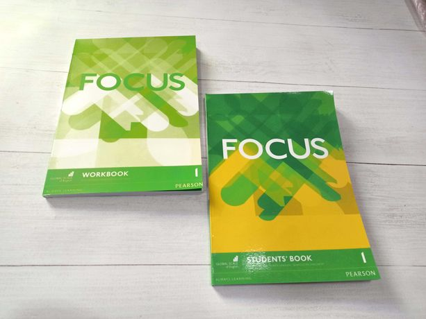 Focus підручники з англійської