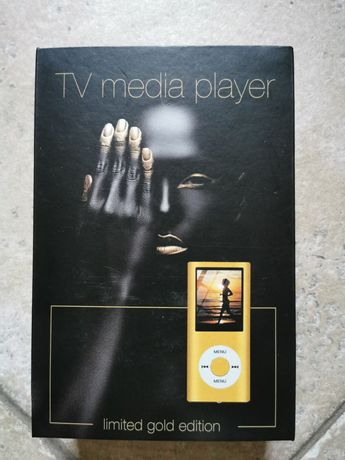 Tv media/mp3 player (limited gold edition)