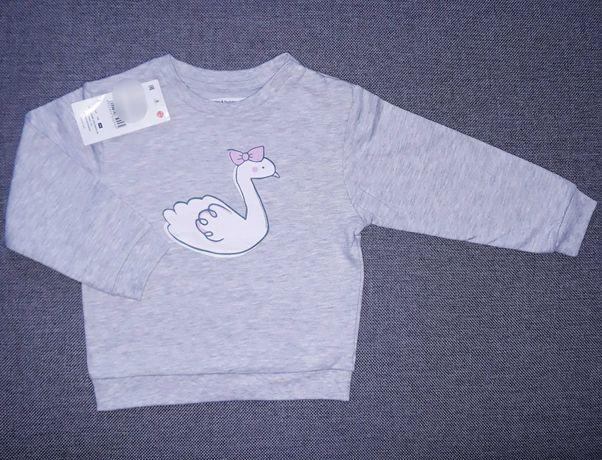 Nowa bluza niemowlęca dziewczęca 86cm