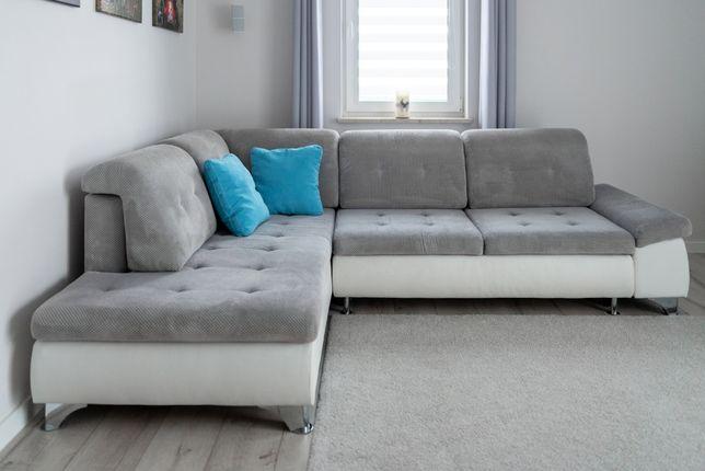 Narożnik z funkcją spania | Sofa | stan bardzo dobry
