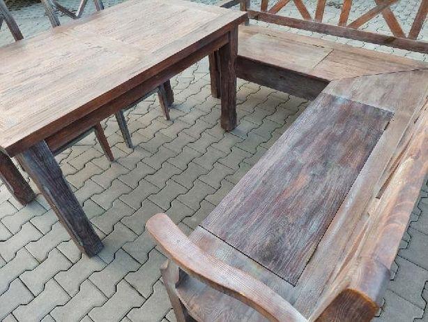 Drewniany Komplet do jadalni