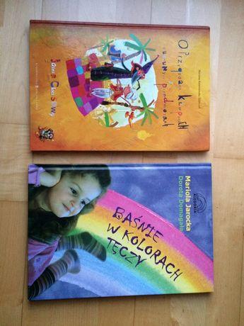 Książki dla dzieci: Baśnie w kolorach tęczy; O przygodach, kłopotach..
