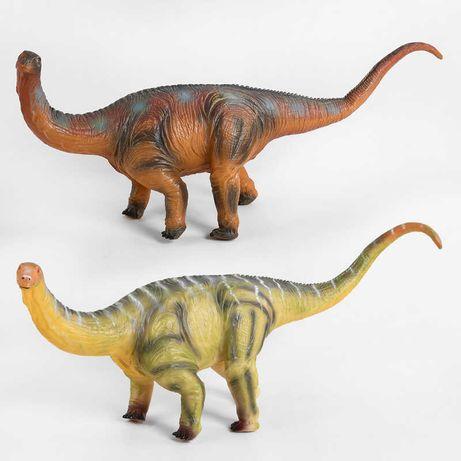 Динозавр резиновый музыкальный