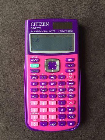 Calculadora cientifica Citizen rosa/roxa