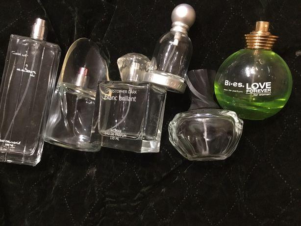 Бутылочки пузырьки от туалетной воды духов