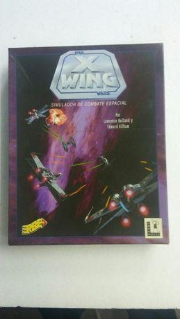 Guerra das Estrelas coleçionável Star Wars x-wing Vintage PC disquetes
