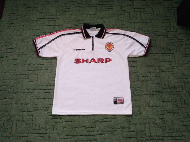 Ретро футболка Манчестер 1999 г. Футбольная джерси Manchester jersey