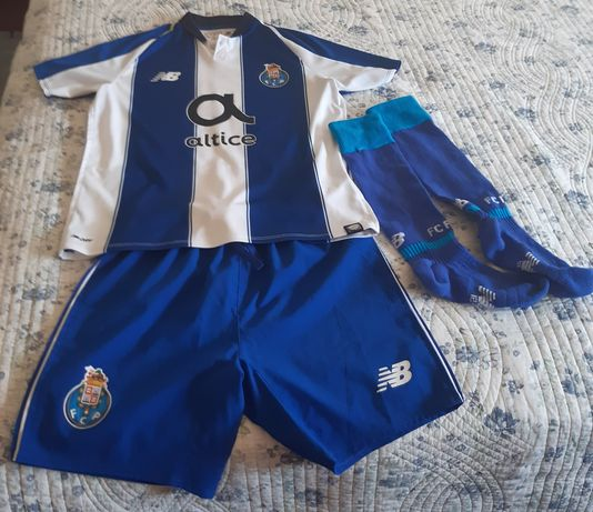 Equipamento oficial 19/20 do FC Porto criança 6/8 anos