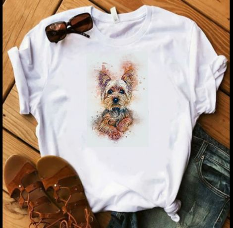 Koszulka bluzka t-shirt Yorkshire terrier York pies S-XXL