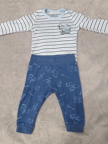 Zestaw komplet body spodnie spodenki 68