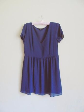 Krótka granatowa sukienka Forever 21