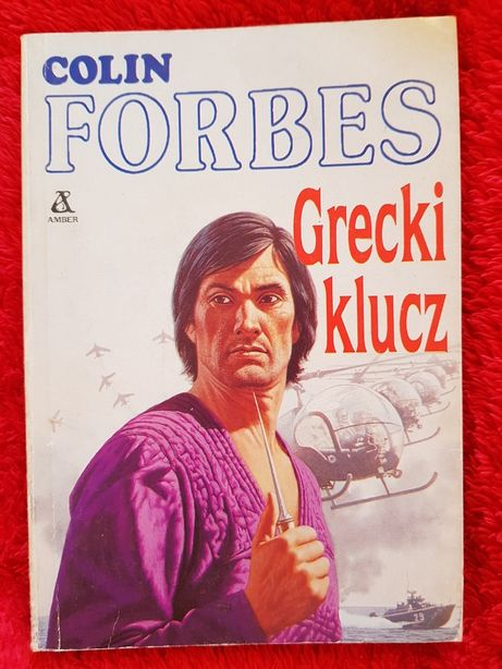 Książka GRECKI KLUCZ Colin Forbes Amber