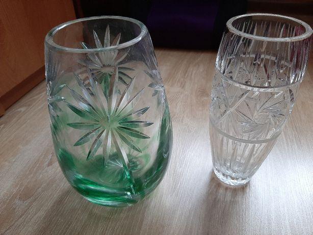 Wazony kryształowe PRL