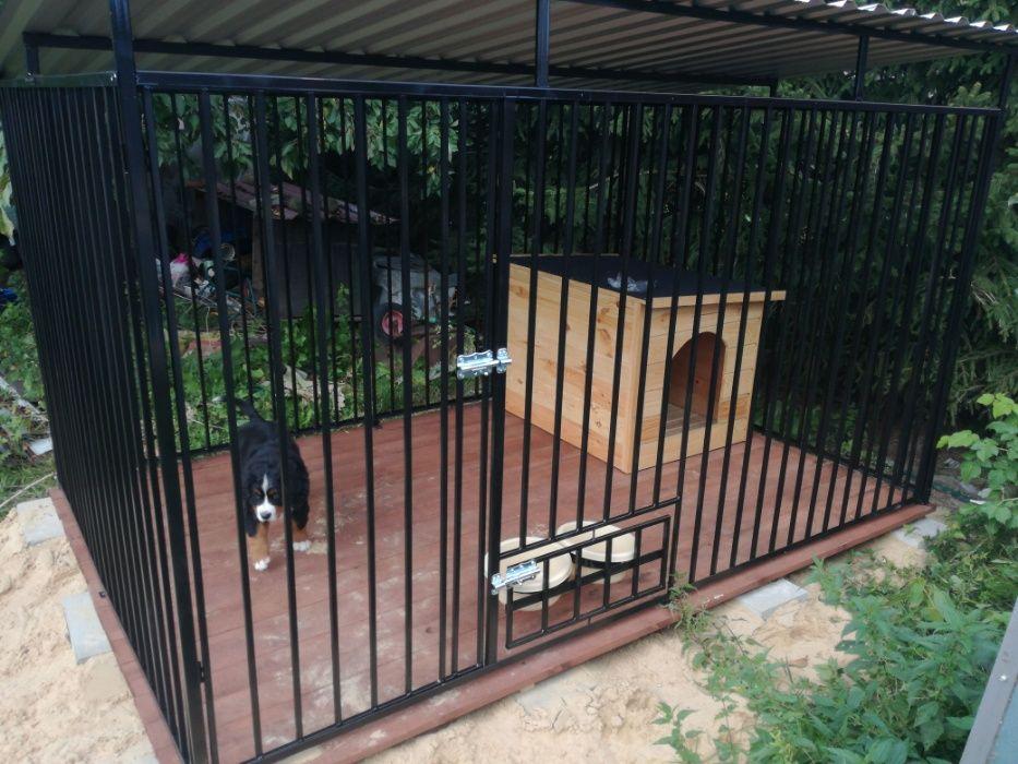 Kojec Klatka Zagroda Buda dla psa 3mx3m Montaż Gratis Solidny Dynów - image 1