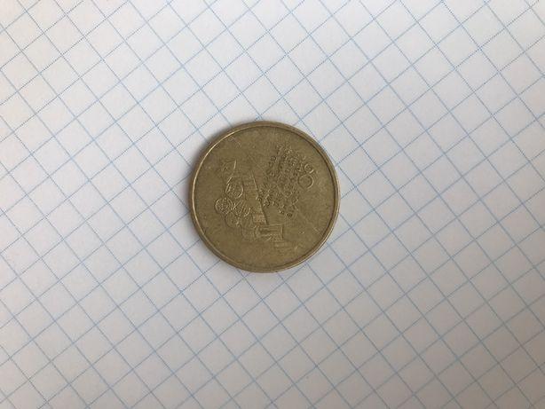 Монета 1 грн 2004 60 років визволення украіни від...