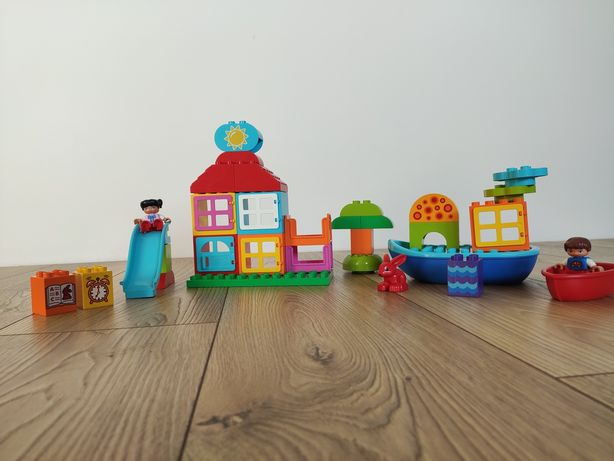 LEGO Duplo domek i łódka