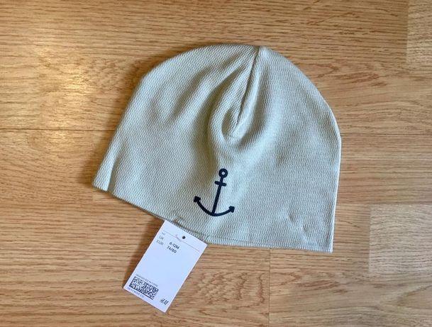 Красивая деми шапочка, шапка для мальчика H&M, размер 80-92
