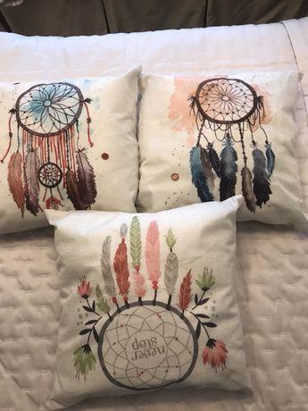 3 Almofadas Decorativas - (NOVAS)