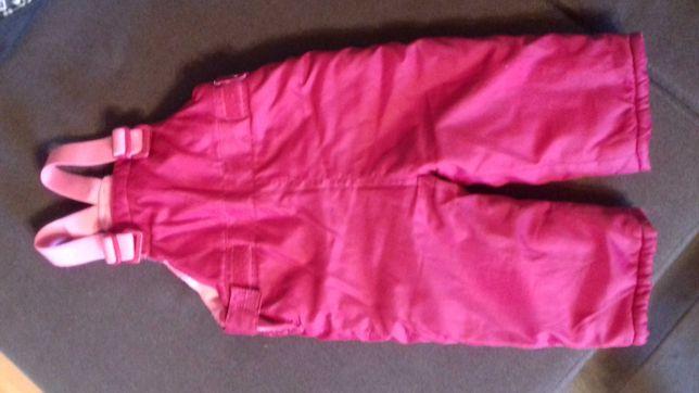 Ocieplane spodnie na jesień zimę rozm. 74