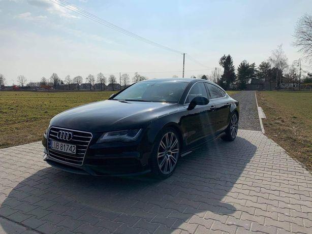 Audi A7 quattro Bose skóry zamiana