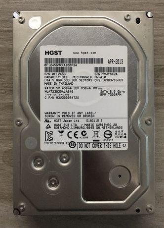 Жесткий диск Hitachi(HGST) Ultrastar 7K4000 3TB SATA III 7200 64MB 3.5