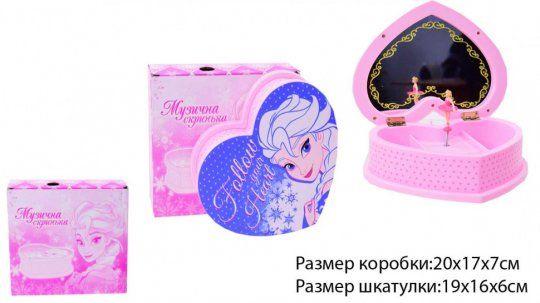 НА 8 Марта!! Музыкальная шкатулка с балериной Frozen (Фроузен)