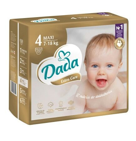 Подгузники Памперсы ДАДА (DaDa) Premium Extra care