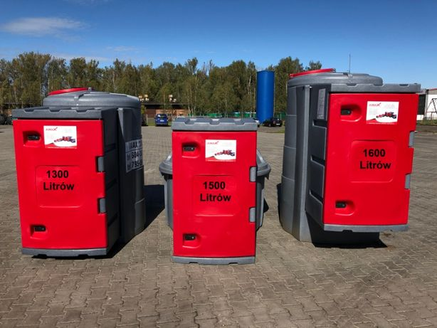 Zbiorniki na paliwo o poj. 1300/1500/1600l - olej napędowy diesel AMAX