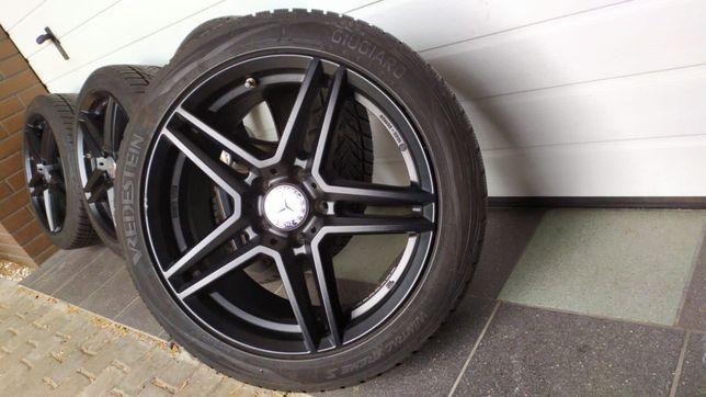 Koła aluminiowe 18'' 5x112 opony zimowe 225/45/18 AUDI MERCEDES SEAT