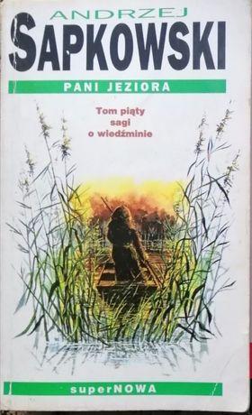 Wiedźmin - Pani Jeziora - Tom V - Andrzej Sapkowski - pierwsze wydanie